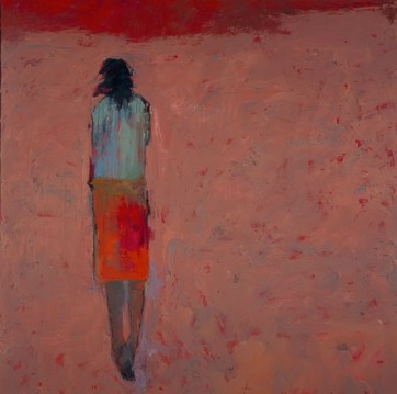Alone But Not Lonely #3 - 36 x 36