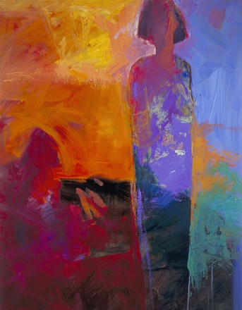 Alone But Not Lonely #4 - 48 x 36